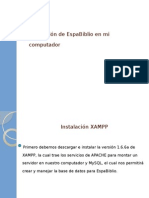 Instalar Espabiblio XAMPP V1