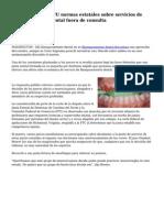 Cuestionan en EEUU normas estatales sobre servicios de blanqueamiento dental fuera de consulta