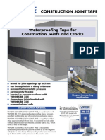 Water proofing tape for construction joint and cracking.pdf