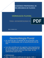 Clase 3-Geomorfologia Fluvial