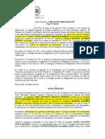 Sentencia_TSJ_SPA_Nº 1321_13!06!2000_Jose Antonio Carleos Romero vs Manuel Alvarez Fustes_Domicilio_Pruebas
