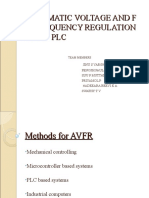 Automatic Voltage and frequency Regulation