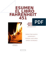 RESUMEN DEL Libro Fahrenheit 451