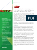 Dierbergs Switches From Microsoft Hyper v to VMware VSphere