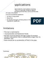 Applications and Limitations of Poiseulleu2019s Law