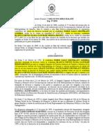 Sentencia_TSJ_SPA_Nº 1200_25!05!2000_Boris Galo Grunblatt vs Blanca Nieves Elisa Clotilde Perina Benito_Domicilio_Pruebas