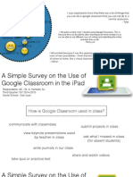 Students' Feedback on the Use of Google Classroom - A Survey