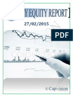 Daily Equity Report 27-02-2015