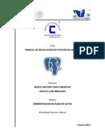 Manual de Instalacion de Postgresql en Ubuntu