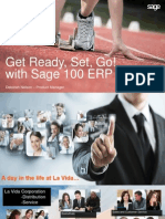 Customer Overview of Sage 100 ERP 2015