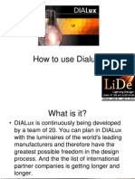 How to Use Dialux