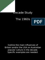 History Decade Study 1960s ppt