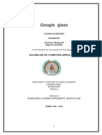 Google Glass-seminar Report