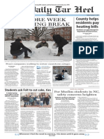 The Daily Tar Heel for Feb. 27, 2015