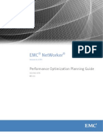 NetWorker 8.2 SP1 Performance Optimization Planning Guide