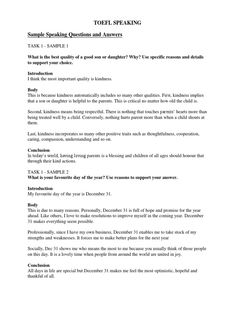 Toefl speaking questions and answers sentence linguistics toefl speaking questions and answers sentence linguistics psychology cognitive science pronofoot35fo Image collections