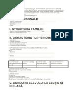 Pisa Pshihologica a Elevului