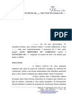 Acao de Cobranca Contra Municipio (2)