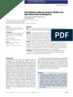 Acta Paediatrica Volume 100 Issue 12 2011 [Doi 10.1111%2Fj.1651-2227.2011.02372.x] Shuko Nagai; Naohiro Yonemoto; Norotiana Rabesandratana; Diavola -- Long-term Effects of Earlier Initiated Continuous