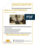 Become a Microbusiness Mentor