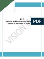 Aptitude Foundational Values for CS