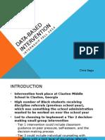 data-based intervention presentation