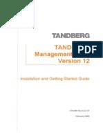TANDBERG ManagementSuite 12.0 Installation&GettingStarted Es