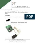 Example 3G Config - Option Globetrotter HSDPA USB Modem