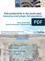 Fish Productivity in the South West