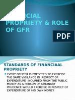 FINANCIAL PROPRIETY & ROLE OF GFR.pptx prob 2013.pptx