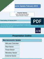 Nepal Macroeconomic Update, February 2015