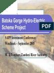 Batoka Gorge Hydroelectric Project
