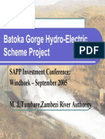 Batoka Gorge Hydroelectric Project