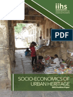 Position Paper on Socio Economics of Urban Heritage