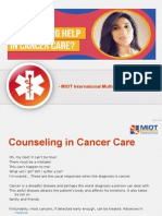 How Does Counseling Help In Cancer Care?
