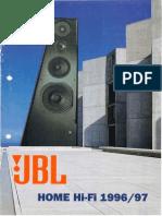 JBL - Catalogo Hi-Fi 1996-09 (Italiano)