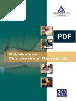 Guidelines on Occupational Dermatitis