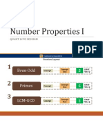 e GMAT Number Properties