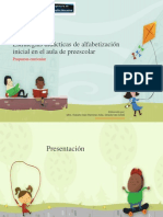 Estrategias didácticas de alfabetización inicial en el aula. Curso Propuesta curricular