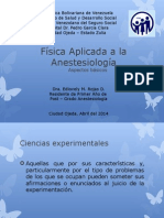 Física Aplicada a La Anestesiología