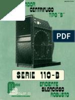 Centrifugo-110B ventiladores