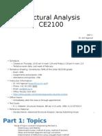 CE2100 Lecture 1