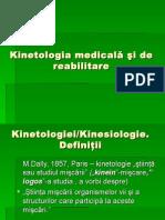 Kinetologia Medicală 2 Lectie Studenti
