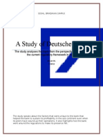 Marketing Analysis of Duetsche bank