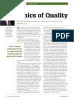 Ethics of Quality