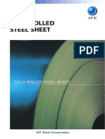 Cold Rolled Sheet - JFE