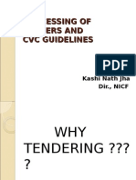 Tendering Process Cvc Guideline