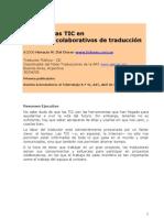 PROYECTOS DE TRADUCCIÓN