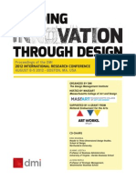 Leading innovation through Design