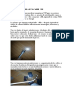Crear Un Cable Utp